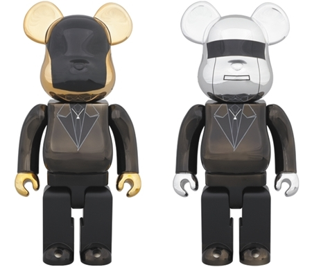 Daft Punk Random Access Memories Ver 400% 2pc ベアブリック (BE@RBRICK)