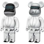 Daft Punk TRON LEGACY ver. 400% 2pc ベアブリック(BE@RBRICK)[発売]