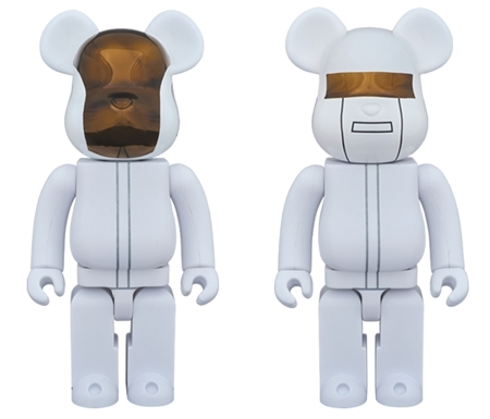 Daft Punk WHITE SUITS Ver 400% 2pc ベアブリック (BE@RBRICK)