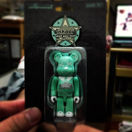 DAHOOD 10th Anniversary ベアブリック(BE@RBRICK)