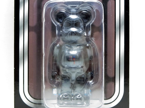 DARTH VADER CHROME Ver 100% ベアブリック (BE@RBRICK)