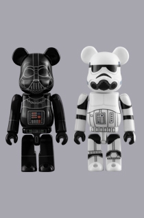 DARTH VADER & STORMTROOPER 2pc ベアブリック(BE@RBRICK)