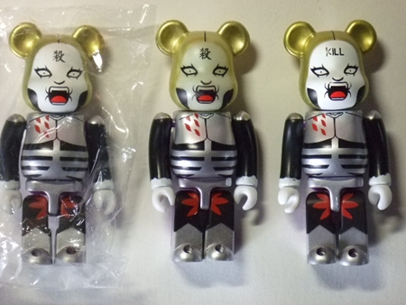 DMC DVD ver. 2pc ベアブリック(BE@RBRICK)