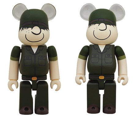 DRX ARMY beetle bailey 100% 400% ベアブリック(BE@RBRICK)