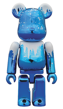 DRX-MAS JACK FROST 100% ベアブリック(BE@RBRICK)