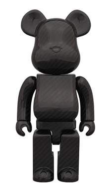 DRY CARBON 400% ベアブリック(BE@RBRICK)