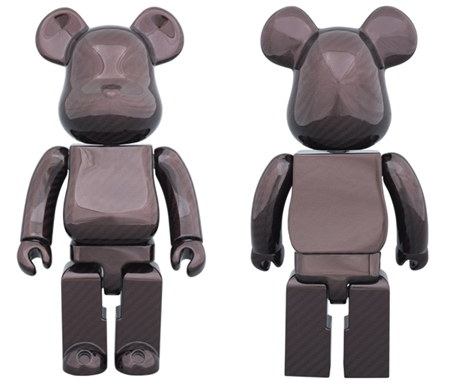 DRY CARBON RED 400% ベアブリック (BE@RBRICK)