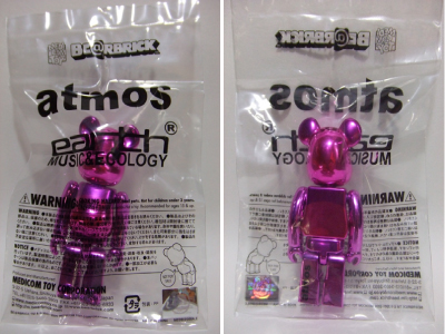 earth music & ecology 100% ベアブリック(BE@RBRICK)