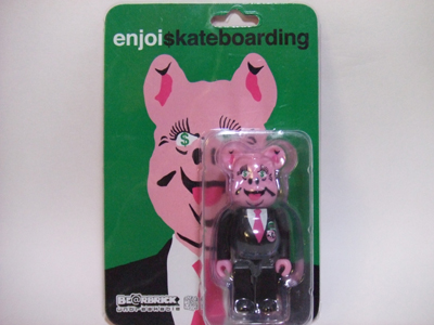 enjoi skateboarding(エンジョイ スケートボーディング) 100% ベアブリック(BE@RBRICK)