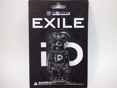 EXILE iD 100% ブラック ベアブリック(BE@RBRICK)
