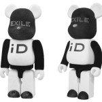 EXILE iD 2011 100% 1000% ベアブリック(BE@RBRICK)[発売]