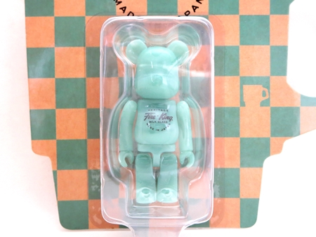 Fire-King 100% JADE-ITE ベアブリック (BE@RBRICK)