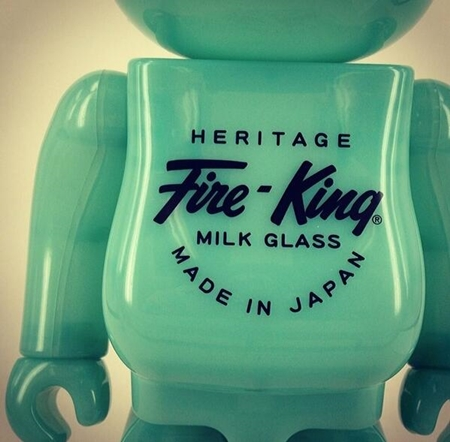 Fire-King 400% ベアブリック (BE@RBRICK)