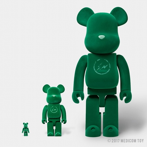 FRAGMENT DESIGN THE PARK・ING GINZA 100% 400% 1000% ベアブリック (BE@RBRICK)