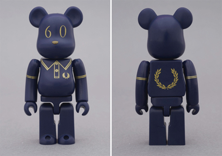 FRED PERRY 60th Anniversary ベアブリック(BE@RBRICK)
