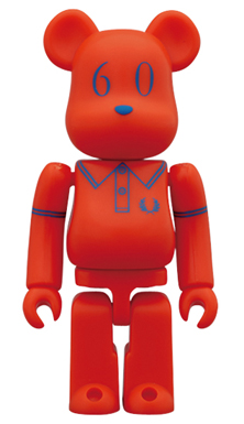 FRED PERRY 60th Anniversary BEAMS Ver ベアブリック(BE@RBRICK)