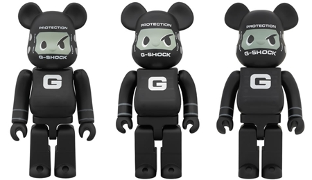 G-SHOCKMAN DW5600MT 100% 400% 1000% ベアブリック (BE@RBRICK)