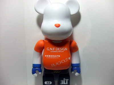 Gallery 1950 14th Anniversary 400% ベアブリック(BE@RBRICK)