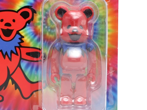 GRATEFUL DEAD DANCING BEARS 100% レッド ベアブリック (BE@RBRICK)