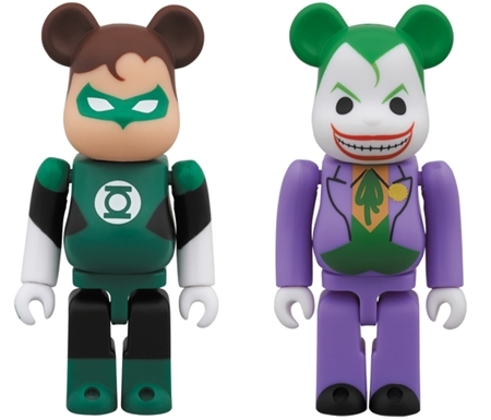 GREEN LANTERN & The Joker 100% SDCC 2014 ベアブリック (BE@RBRICK)