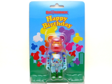 グリーティング 誕生日2 ベアブリック(BE@RBRICK)