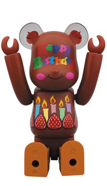 グリーティングSP 誕生日 SP ベアブリック (BE@RBRICK)