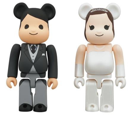 グリーティング 結婚 ベアブリック(BE@RBRICK)