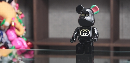 GUCCI 90th Anniversary 400% ベアブリック(BE@RBRICK)