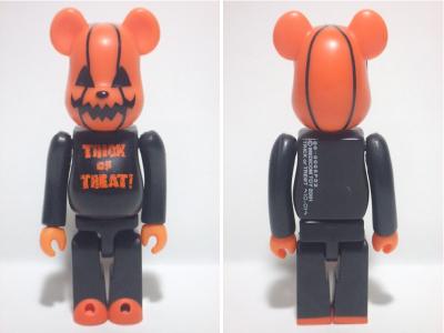 Halloween 2001 100% ベアブリック(BE@RBRICK)