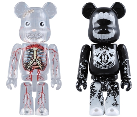 Halloween 2008 Dr.ROMANELLI & BUTCHER BLOCK 2pc ベアブリック(BE@RBRICK)