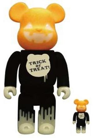 Halloween 2009 100% & 400% ベアブリック(BE@RBRICK)