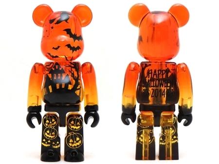 Halloween 2014 クリアオレンジ ベアブリック (BE@RBRICK)