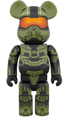 HALO MASTER CHIEF 400% ベアブリック (BE@RBRICK)