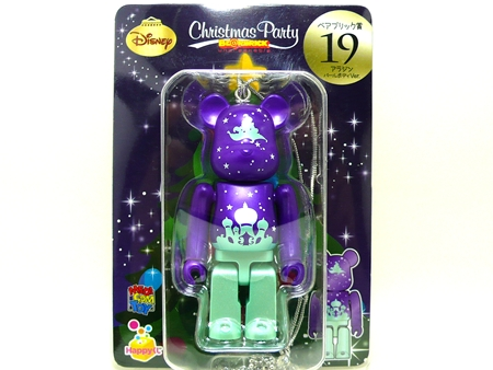 Happyくじ Disney Christmas Party アラジン パールボディ Ver ベアブリック (BE@RBRICK)