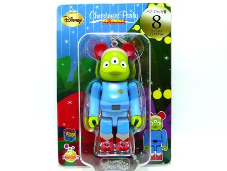 Happyくじ Disney Christmas Party エイリアン クリスマス Ver ベアブリック(BE@RBRICK)
