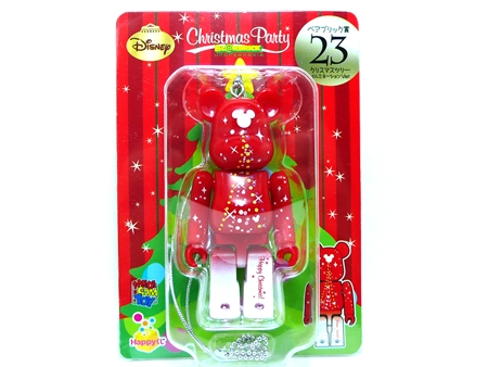 Happyくじ Disney Christmas Party クリスマスツリー イルミネーション Ver ベアブリック (BE@RBRICK)