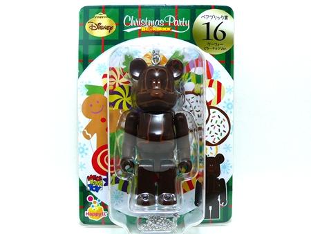 Happyくじ Disney Christmas Party グーフィー ビターチョコ Ver ベアブリック (BE@RBRICK)