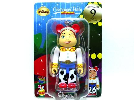 Happyくじ Disney Christmas Party ジェシー クリスマス Ver ベアブリック(BE@RBRICK)