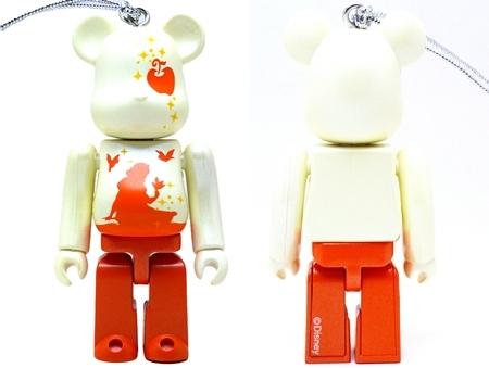 Happyくじ Disney Christmas Party 白雪姫 パールボディ Ver ベアブリック (BE@RBRICK)