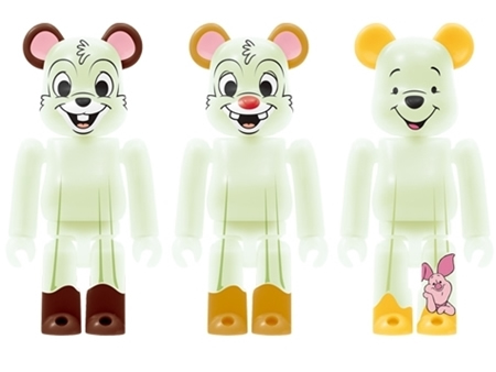 Happyくじ Disney HALLOWEEN MONSTER WOW! ベアブリック (BE@RBRICK)