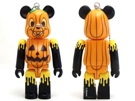 Happyくじ Disney HALLOWEEN MONSTER WOW! チップ ジャック・オー・ランタン Ver ベアブリック (BE@RBRICK)