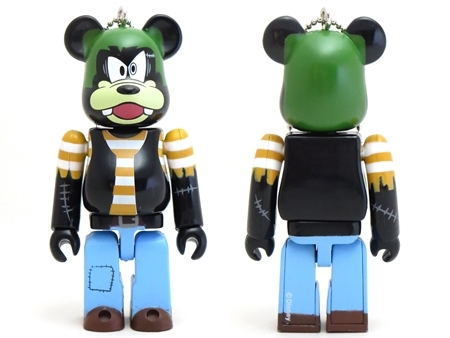 Happyくじ Disney HALLOWEEN MONSTER WOW! グーフィー 人造犬 Ver ベアブリック (BE@RBRICK)