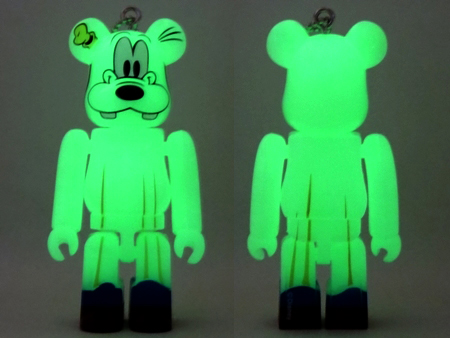 Happyくじ Disney HALLOWEEN MONSTER WOW! グーフィー おばけ Ver ベアブリック (BE@RBRICK)