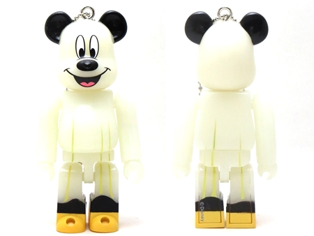Happyくじ Disney HALLOWEEN MONSTER WOW! ミッキーマウス おばけ Ver ベアブリック (BE@RBRICK)