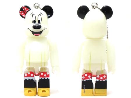 Happyくじ Disney HALLOWEEN MONSTER WOW! ミニーマウス おばけ Ver ベアブリック (BE@RBRICK)
