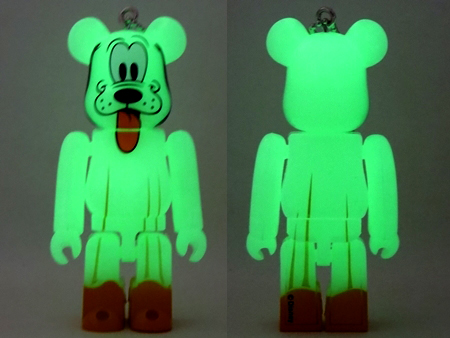 Happyくじ Disney HALLOWEEN MONSTER WOW! プルート おばけ Ver ベアブリック (BE@RBRICK)