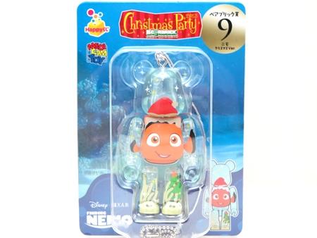Happyくじ Disney PIXAR Christmas Party 2013 ニモ クリスマス Ver ベアブリック (BE@RBRICK)