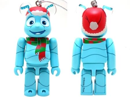 Happyくじ Disney PIXAR Christmas Party 2013 フリック クリスマス Ver ベアブリック (BE@RBRICK)