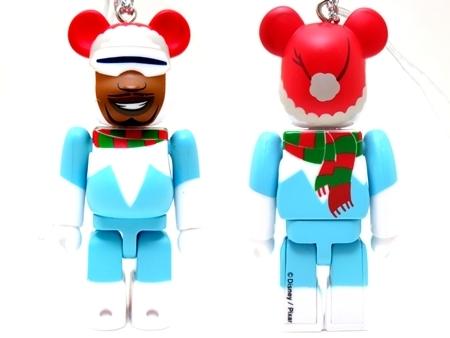 Happyくじ Disney PIXAR Christmas Party 2013 フロゾン クリスマス Ver ベアブリック (BE@RBRICK)
