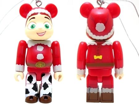 Happyくじ Disney PIXAR Christmas Party 2013 ジェシー サンタ Ver ベアブリック (BE@RBRICK)